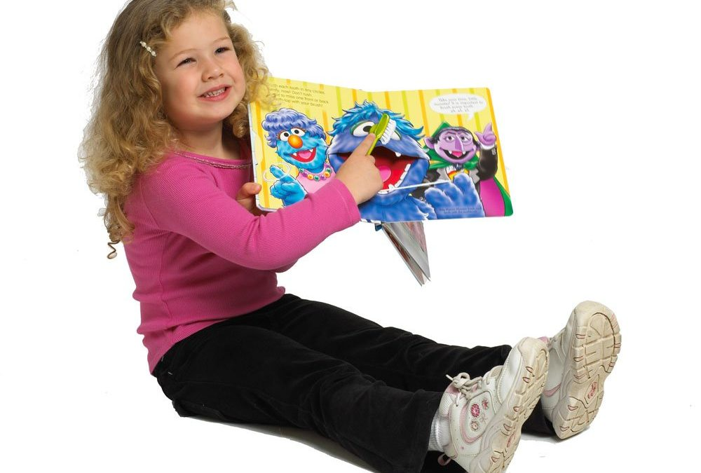 Preparing your child for the dentist with BOOKS!